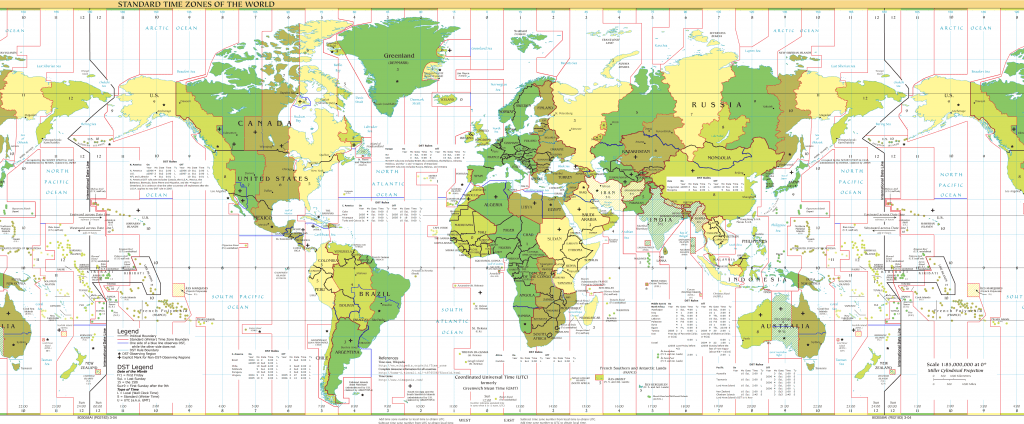 standard timezones of the world 1024x424