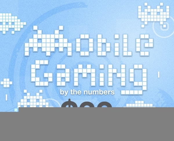 Mobile Gaming by numbers infographic1