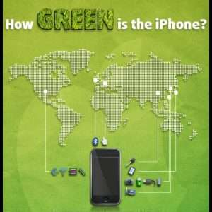 How Green is the iPhone infographic1 300x300