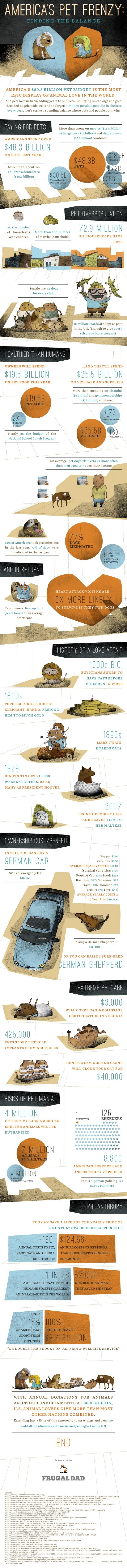 Americas Pet Frenzy Infographic