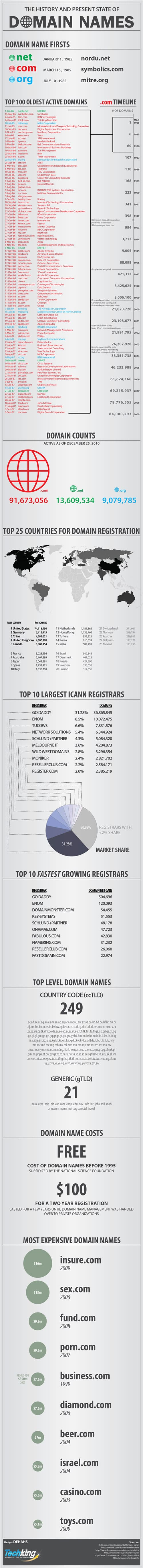 domain names infographic