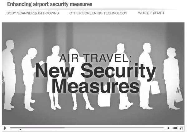 airport security infographic video
